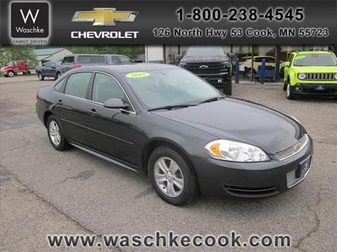 2015 Chevrolet Impala Limited for sale in Cook, MN