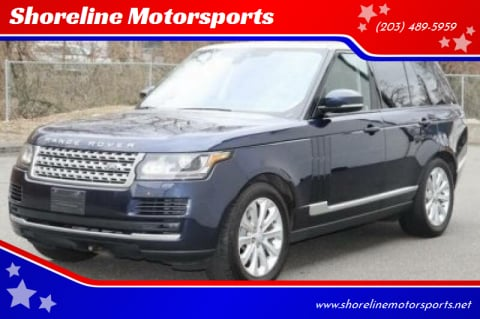 2015 Land Rover Range Rover for sale at Shoreline Motorsports in Waterbury CT
