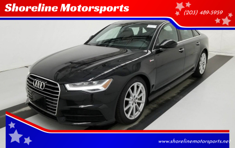 2018 Audi A6 for sale at Shoreline Motorsports in Waterbury CT
