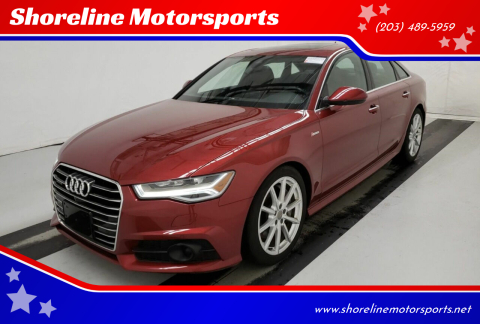 2017 Audi A6 for sale at Shoreline Motorsports in Waterbury CT