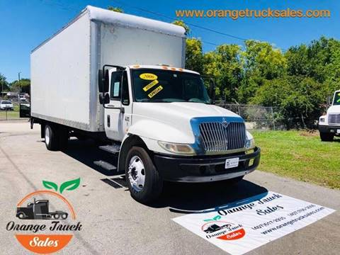 2006 International 4300 for sale at Orange Truck Sales in Orlando FL
