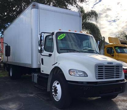 2012 Freightliner Business class M2 for sale at Orange Truck Sales in Orlando FL