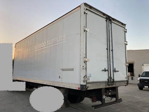 2005 Morgan 24 ft reefer box body 24 ft reefer for sale at Orange Truck Sales in Orlando FL