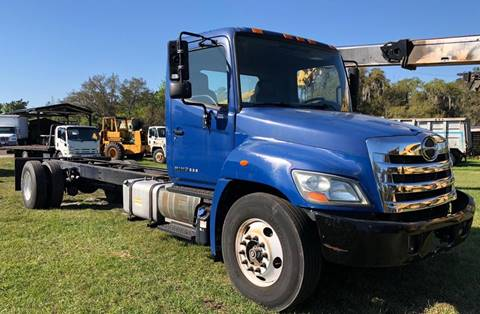 2011 Hino 338 for sale at Orange Truck Sales in Orlando FL
