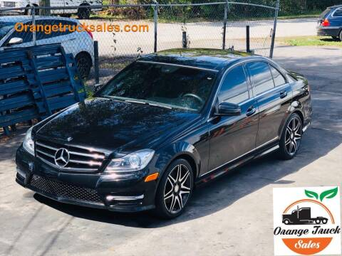 2014 Mercedes-Benz C-Class C 350 Sport for sale at Orange Truck Sales in Orlando FL