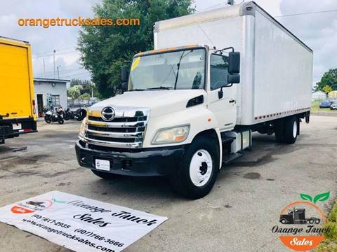 2012 Hino 268A for sale at Orange Truck Sales in Orlando FL