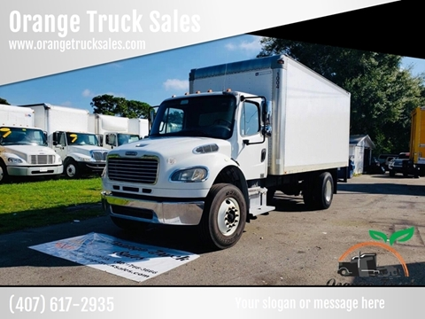 2010 Freightliner Business class M2 for sale at Orange Truck Sales in Orlando FL
