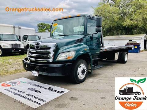 2013 Hino 258 for sale at Orange Truck Sales in Orlando FL