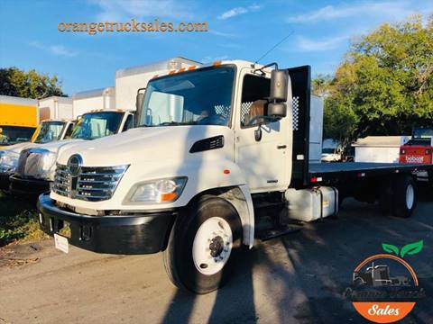 2010 Hino 338 for sale at Orange Truck Sales in Orlando FL