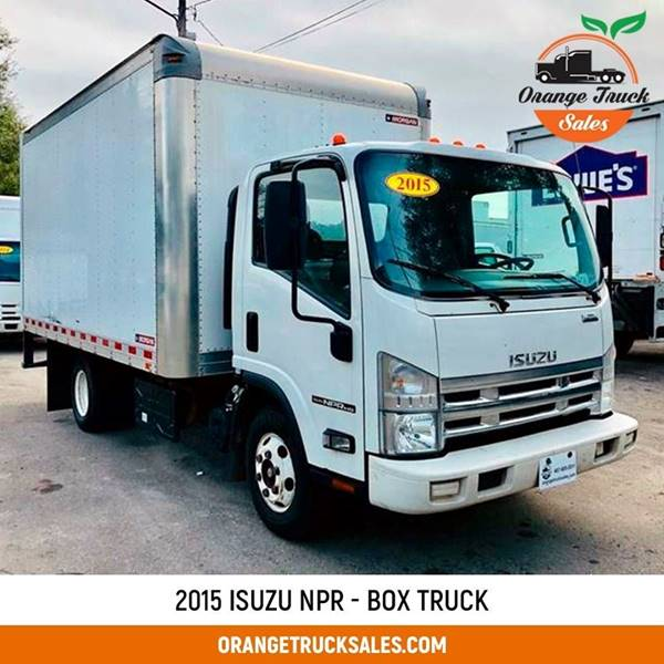 2015 Isuzu NPR HD for sale at Orange Truck Sales in Orlando FL