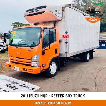 2011 Isuzu NQR for sale at Orange Truck Sales in Orlando FL