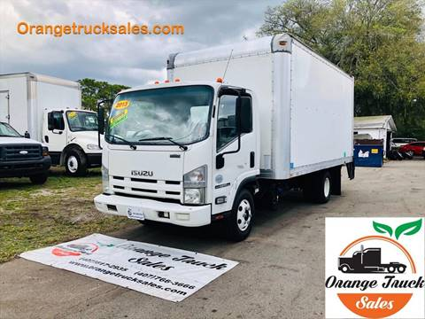 2013 Isuzu NPR-HD for sale at Orange Truck Sales in Orlando FL