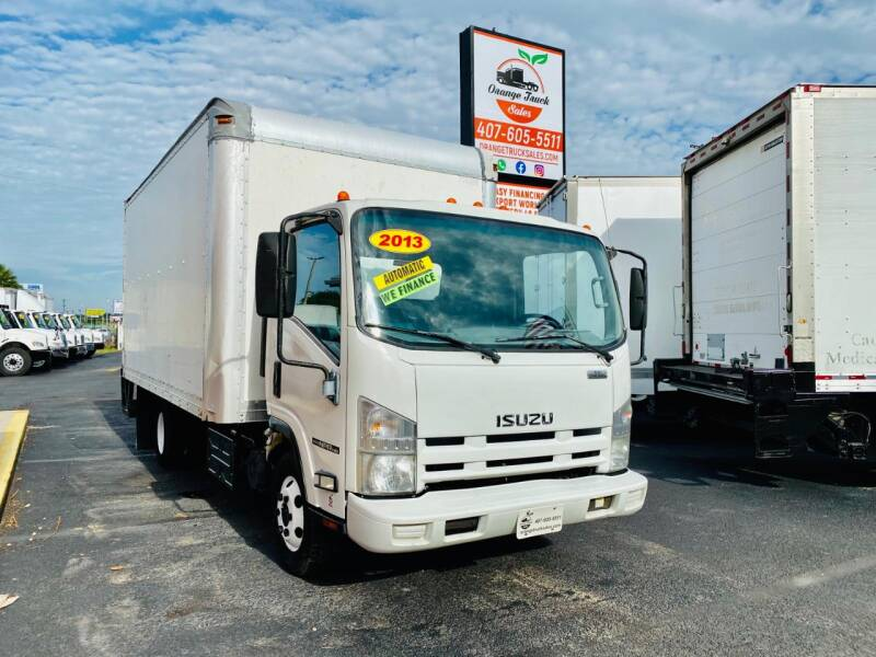 2013 Isuzu NPR HD for sale at Orange Truck Sales in Orlando FL