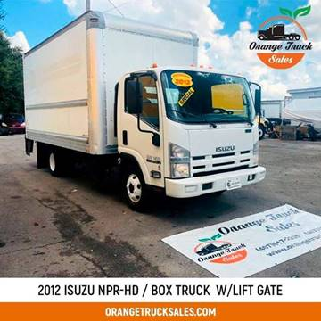 2012 Isuzu NPR-HD for sale at Orange Truck Sales in Orlando FL