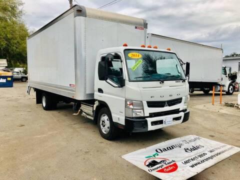 2014 Mitsubishi Fuso FEC92S for sale at Orange Truck Sales in Orlando FL