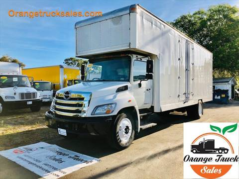 2013 Hino 268 for sale at Orange Truck Sales in Orlando FL