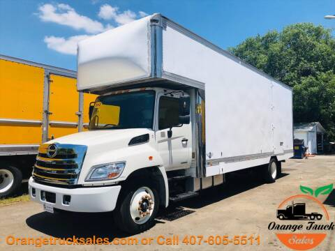 2012 Hino 268 for sale at Orange Truck Sales in Orlando FL