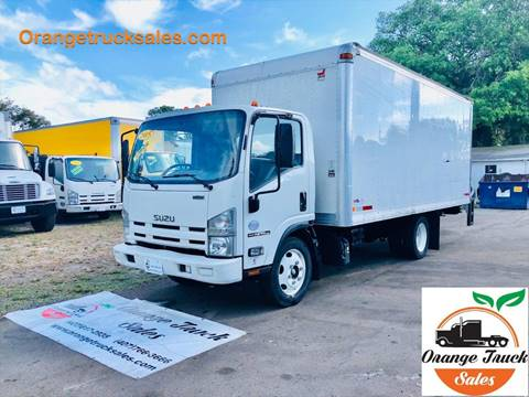 2015 Isuzu NPR for sale at Orange Truck Sales in Orlando FL
