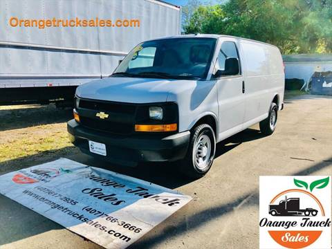 2015 Chevrolet Express Cargo 2500 for sale at Orange Truck Sales in Orlando FL