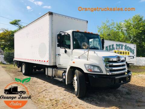 2013 Hino 338 for sale at Orange Truck Sales in Orlando FL