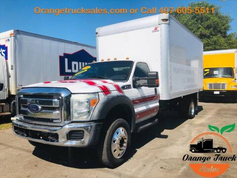 2012 Ford F-550 Super Duty for sale at Orange Truck Sales in Orlando FL