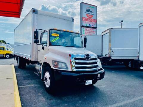 2014 Hino 268 for sale at Orange Truck Sales in Orlando FL