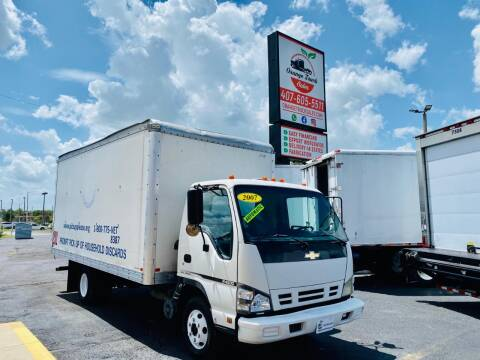 2007 Chevrolet W4500 for sale at Orange Truck Sales in Orlando FL