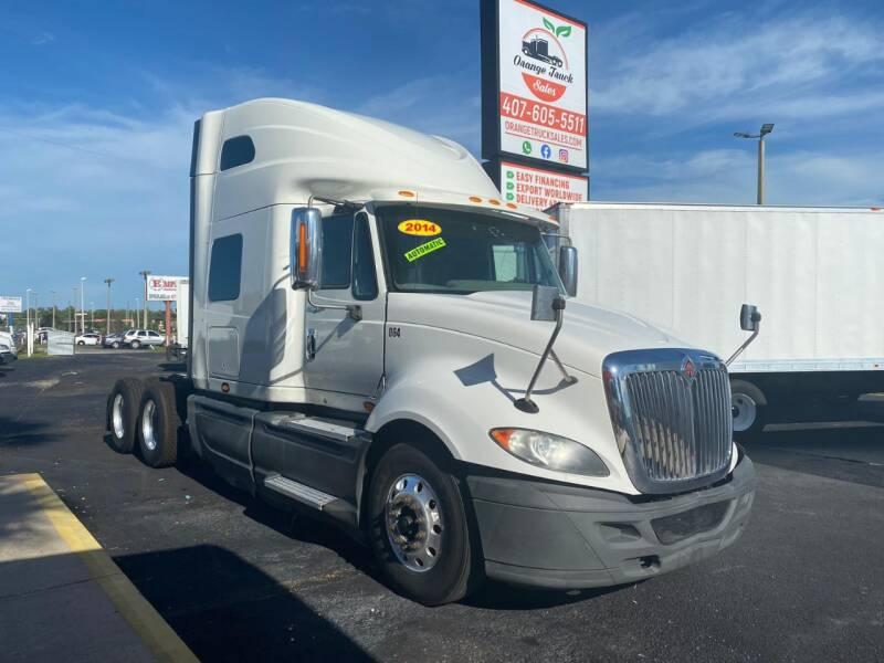 2014 International ProStar+ for sale at Orange Truck Sales in Orlando FL