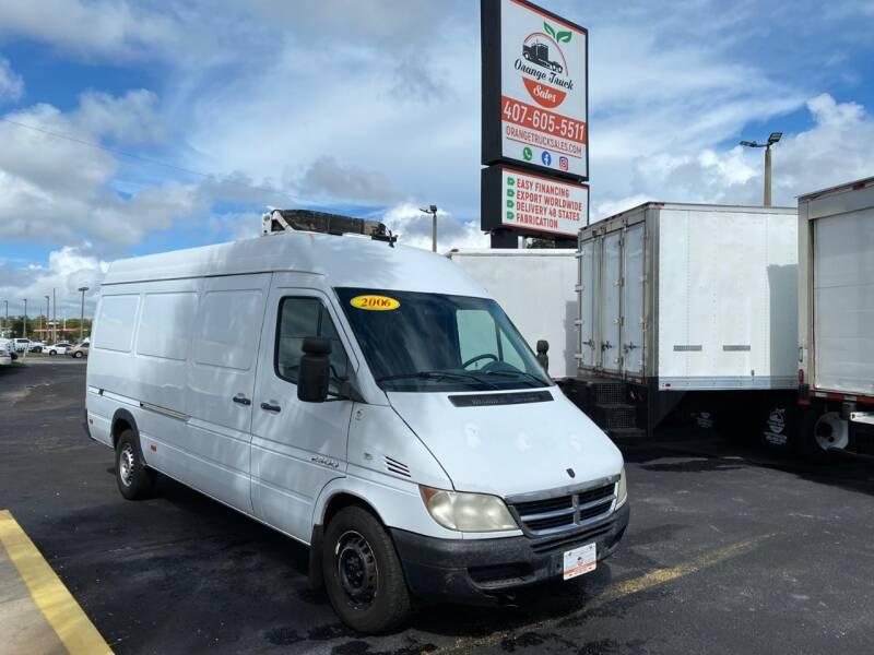 2006 Dodge Sprinter Cargo for sale at Orange Truck Sales in Orlando FL