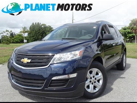 2016 Chevrolet Traverse for sale in West Palm Beach, FL
