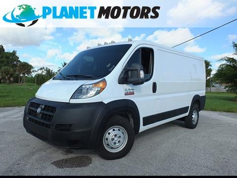 2014 RAM ProMaster Cargo for sale in West Palm Beach, FL