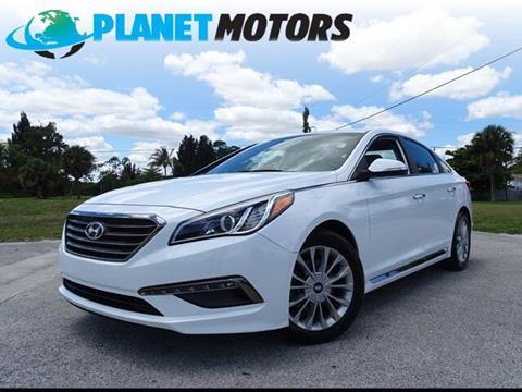 2015 Hyundai Sonata for sale in West Palm Beach, FL