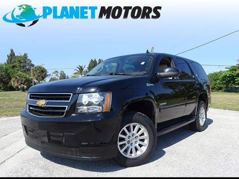 2013 Chevrolet Tahoe Hybrid for sale in West Palm Beach, FL