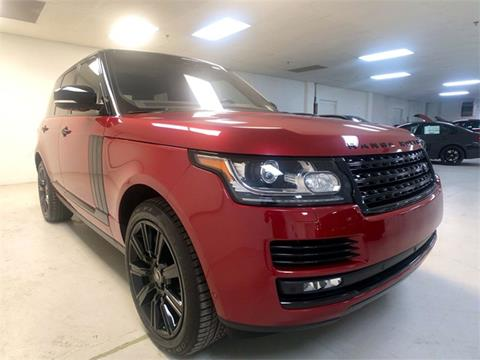 2017 Land Rover Range Rover for sale in Pittsburgh, PA