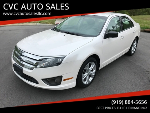 2012 Ford Fusion for sale in Durham, NC