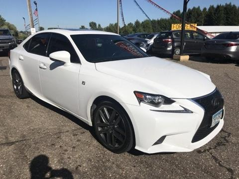 2016 Lexus IS 350 for sale in Somerset, WI