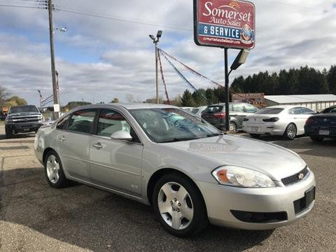 2008 Chevrolet Impala for sale in Somerset, WI