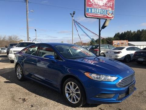 2017 Ford Fusion for sale in Somerset, WI