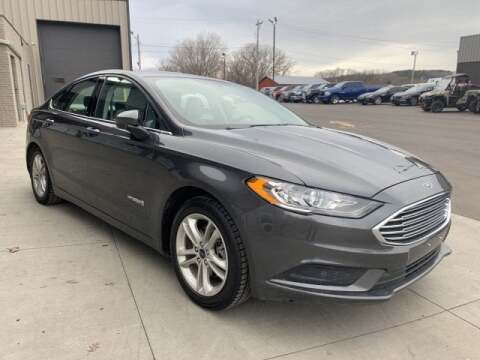 2018 Ford Fusion Hybrid SE for sale at Somerset Sales and Leasing in Somerset WI