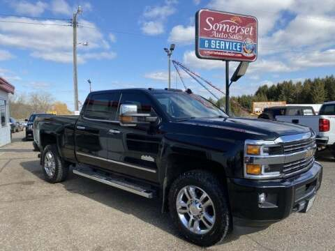 2015 Chevrolet Silverado 2500HD for sale at Somerset Sales and Leasing in Somerset WI