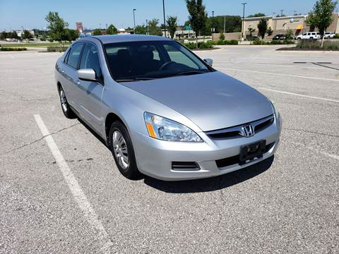 2007 Honda Accord for sale at Auto Hub in Grandview MO