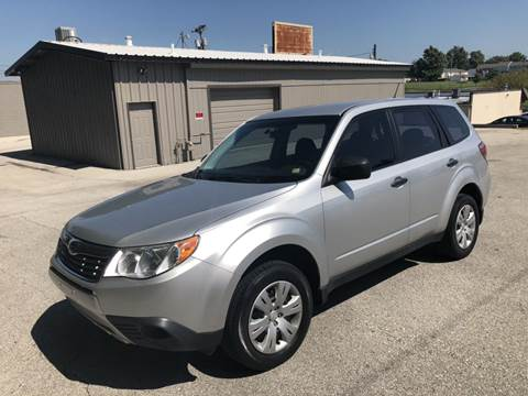 2009 Subaru Forester for sale at Auto Hub in Grandview MO