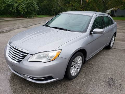 2014 Chrysler 200 for sale at Auto Hub in Grandview MO