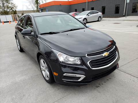 2015 Chevrolet Cruze for sale at Auto Hub in Grandview MO