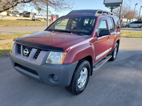 2005 Nissan Xterra for sale at Auto Hub in Grandview MO