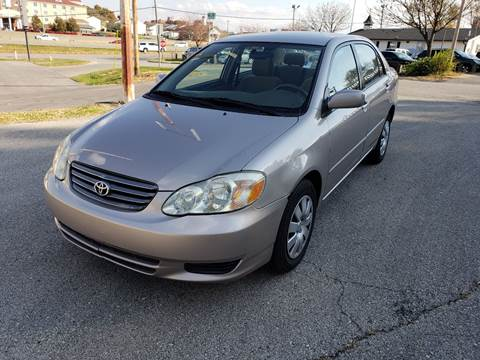 2003 Toyota Corolla for sale at Auto Hub in Grandview MO