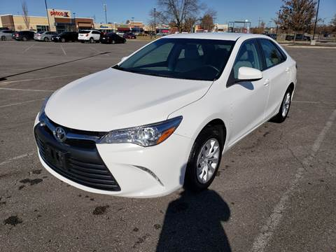 2017 Toyota Camry for sale at Auto Hub in Grandview MO