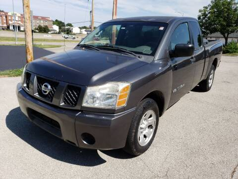 2005 Nissan Titan for sale at Auto Hub in Grandview MO