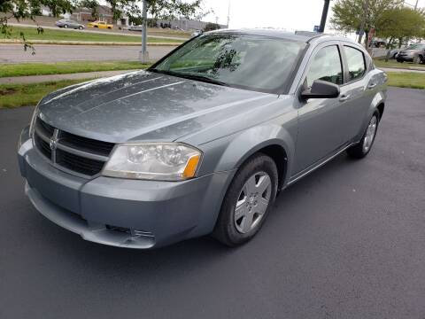 2010 Dodge Avenger for sale at Auto Hub in Grandview MO