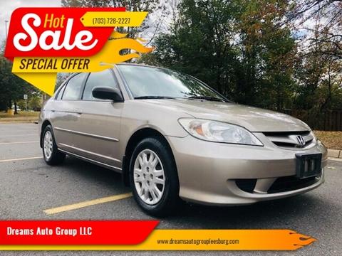 2004 Honda Civic for sale in Leesburg, VA